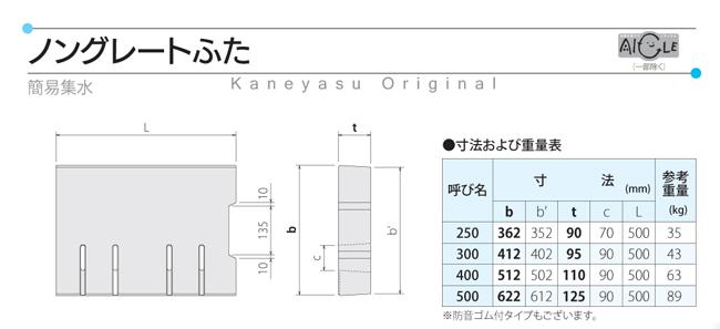 3-1 ノングレートふた(PC-4タイプ)